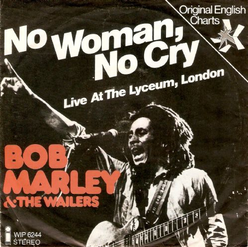 BOB MARLEY AND THE WAILERS No Woman, No Cry Vinyl Record 7 Inch German Island 1975